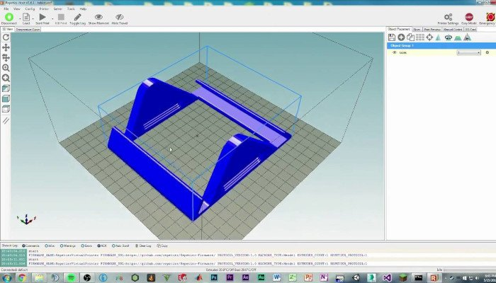 repetier host best 3d printer software
