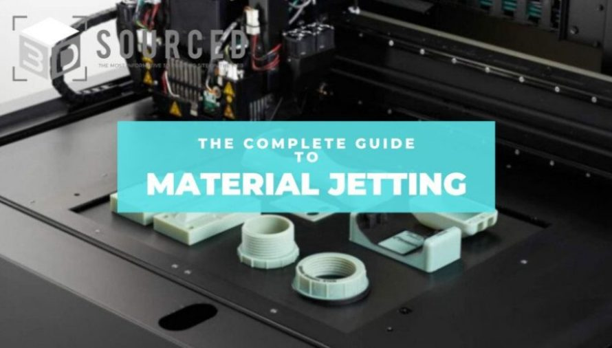Material Jetting (PolyJet) 3D Printing: Everything You Need To Know