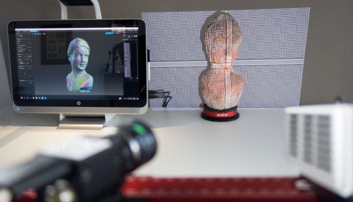 hp sls pro 3 structured light scanner