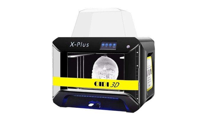 qidi tech x-plus during printing