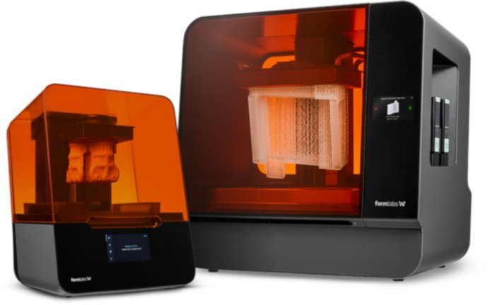 formlabs 3d printer company form 3 and form 3l