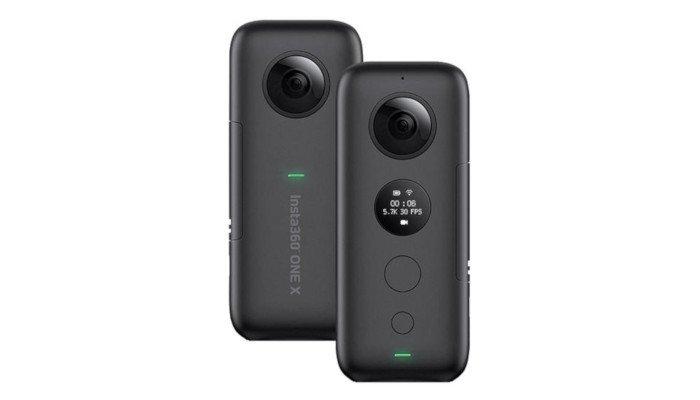 insta360 one x 360 3d camera