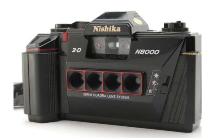 nishika n8000 3d stereo camera analog 35mm