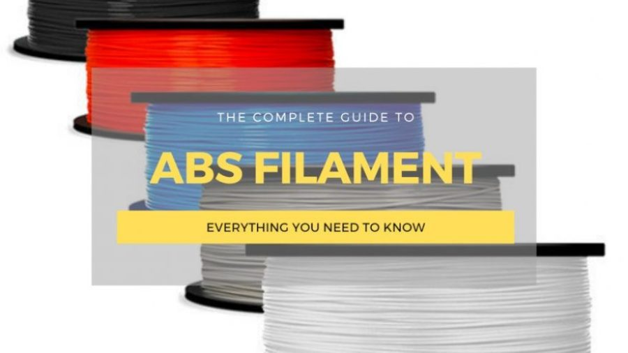 abs filament 3D printing guide cover