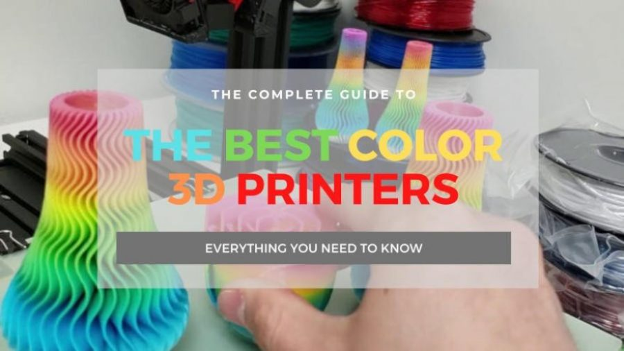 best color 3d printers full color multi color