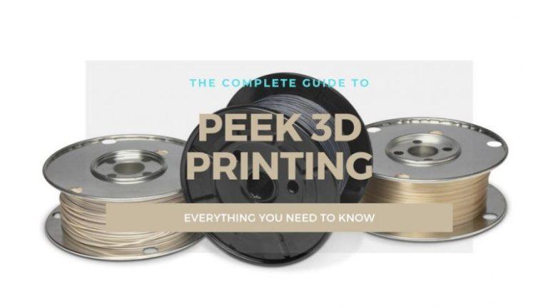 peek filament 3d printing guide cover