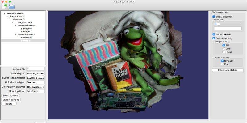 regard3d free photogrammetry software
