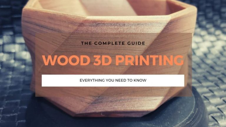 wood 3d printer printing guide filament