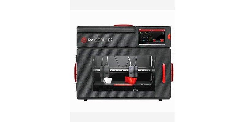 raise3d e2 enclosed 3d printer
