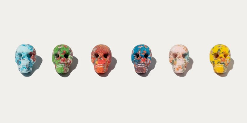 sugar lab 3d printed sugar skulls