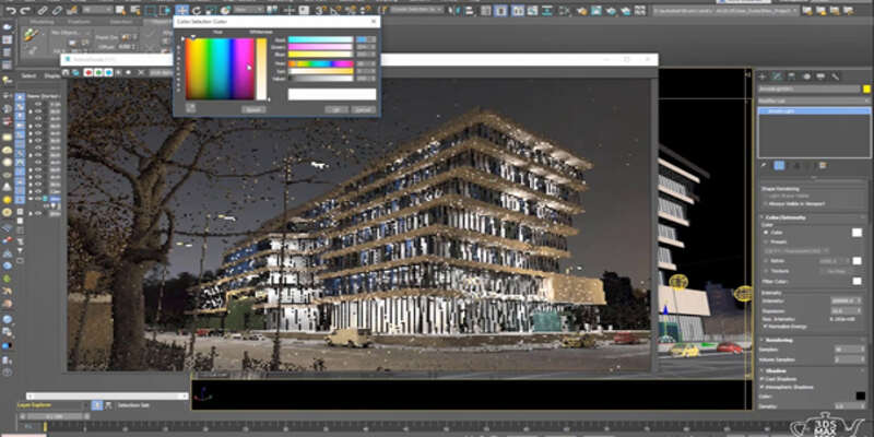 Architecture 3D rendering software