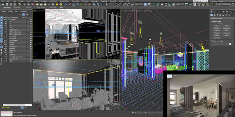 3DS Max 3D modeling software