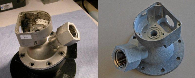 ESA 3D printed titanium valve for space
