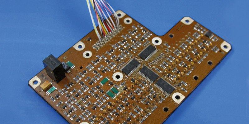HENSOLDT 3D Printed Circuit Board