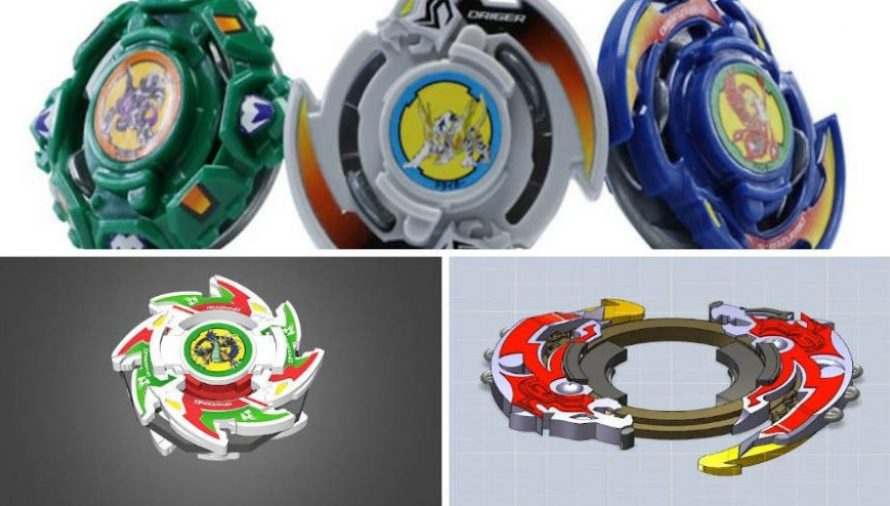 14 Of The Coolest 3D Printed Beyblades and Launchers 2021