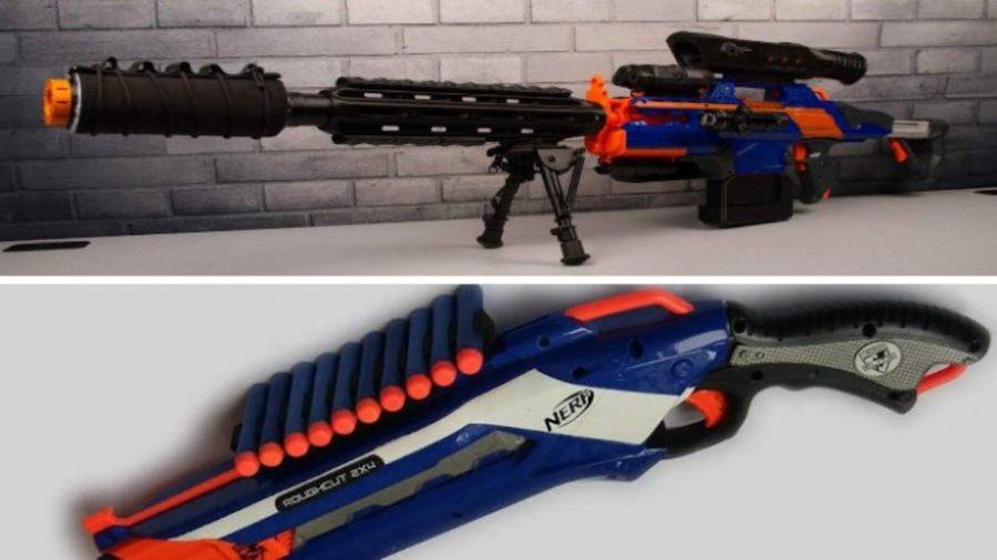 3d printed nerf gun