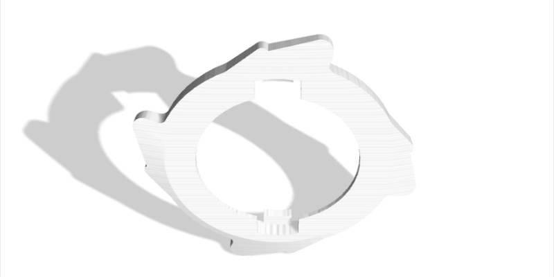 3D Printed Beyblade Burst Frame
