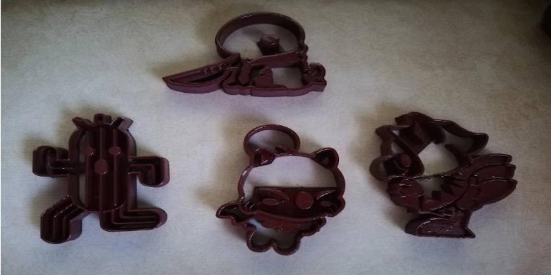 3D Printed Cookie Cutter Final Fantasy Chocobo Tonberry Moogle Cactuar