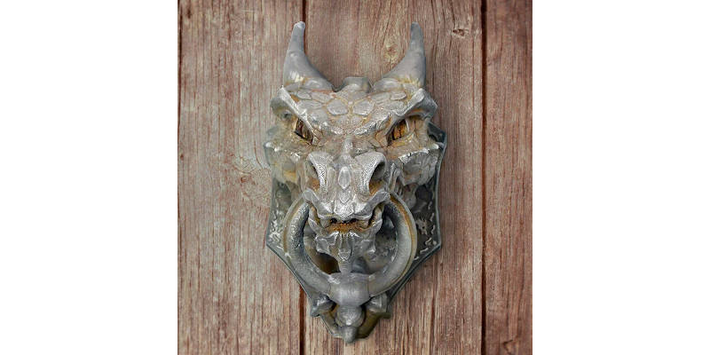 Best 3D Printed Gifts Dragon Door Knocker