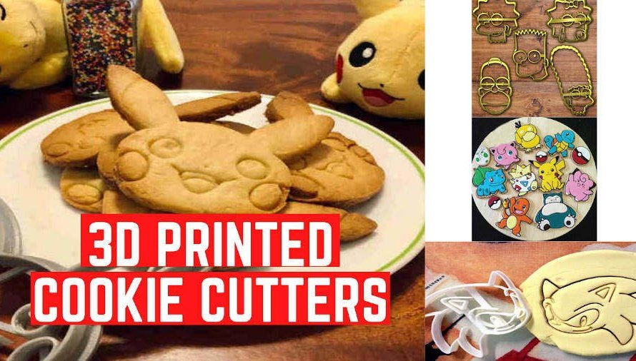52 Cool 3D Printed Cookie Cutters You Can Print At Home