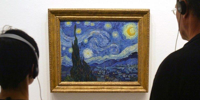 "Van Gogh's ""Starry Night."""
