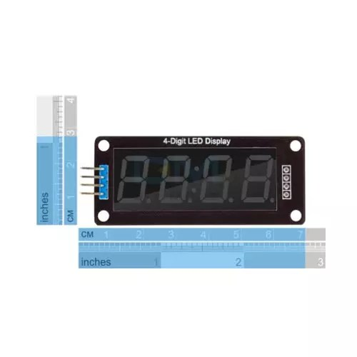 LED display 4x 7seg modul TM1637 03