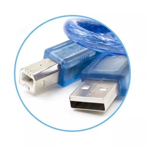 Kabel USB na type-B USB 02