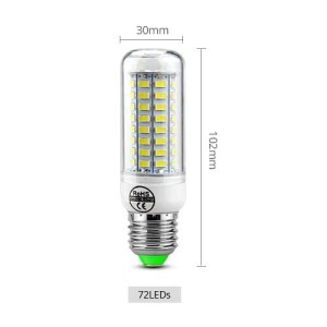 LED žarnica E14 72LED 02