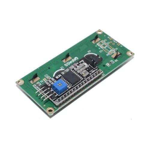 LCD 1602 modro ozadje + I2C vmesnik 02