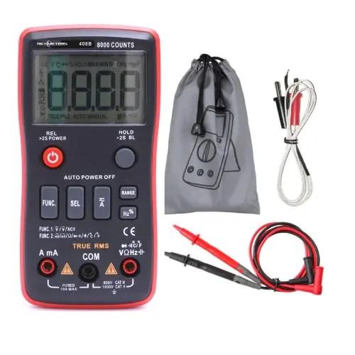 Multimeter digitalni RM408B 01