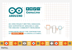 Arduino IDE start