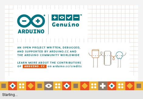Arduino IDE start