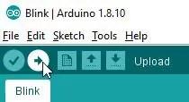 Arduino IDE upload