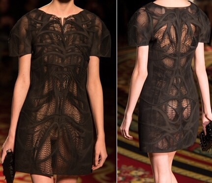 Iris Van Herpen dress