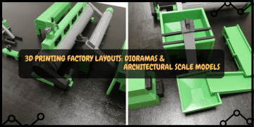 3D Printed Factory Layout & Diorama