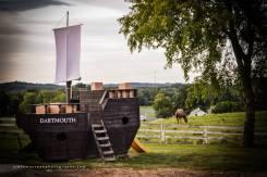 The Dartmouth loaded with East India Company tea
