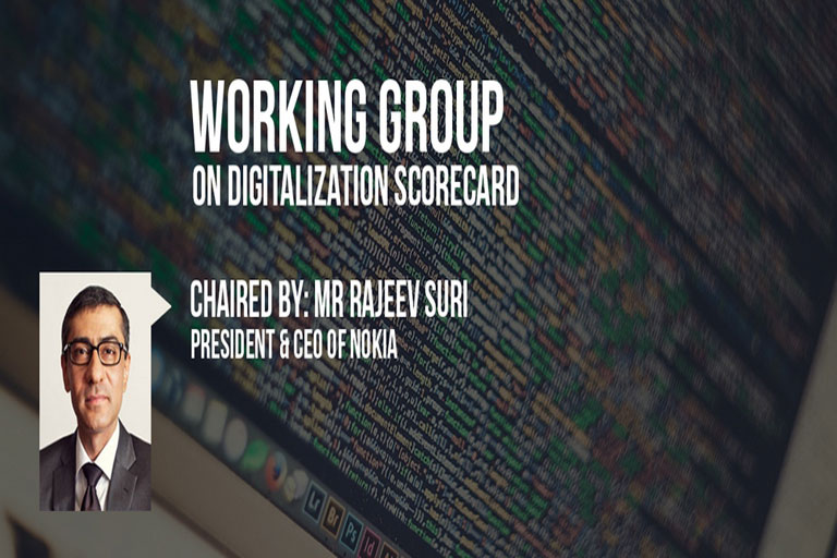 Nokia's Authored the 'Working Group on Digitalisation Scorecard'