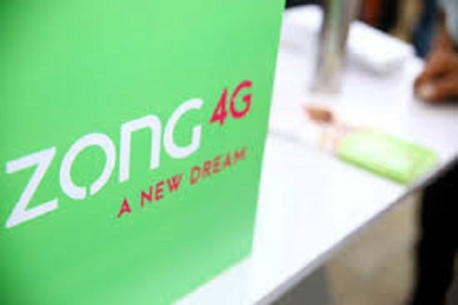 Zong 4G Tops PTA's Customer Resolution Indicator PR