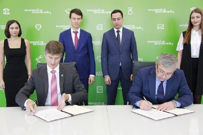 Mirzo Ulugbek Innovation Center Signed Tripartite MoU with KAIST