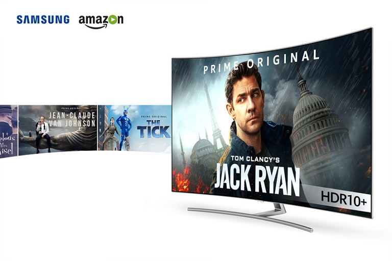 Samsung Partners with Amazon to Offer HDR 10 Plus Video Content