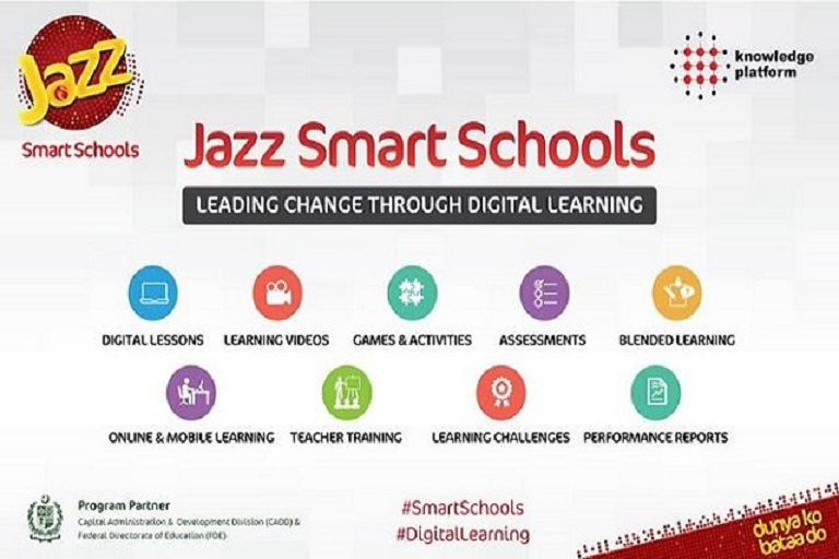 Jazz Smart School Program Launched to Impart Quality Education