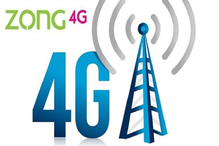 Zong Reached 6 Million Active 4G Subscribers in Pakistan