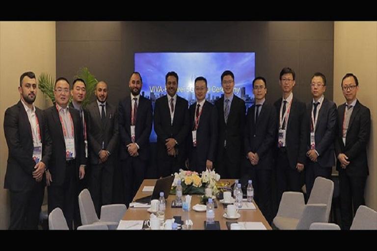 VIVA and Huawei Sign Major Transformation for Menatelecom Network