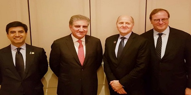 Telenor Group President Meets Pakistan's Foreign Minister in New York