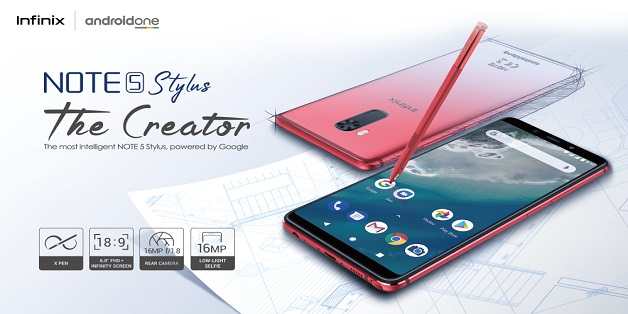 Infinix to Launch Note 5 Stylus in Pakistan