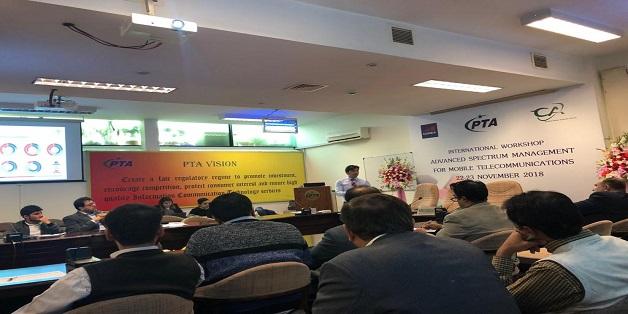 PTA, GSMA & CACF Organized Workshop on Advanced Spectrum Management for Mobile Telecommunications