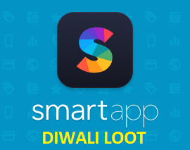 Smartapp Coupons & Offer Diwali Rs.70 cahsback