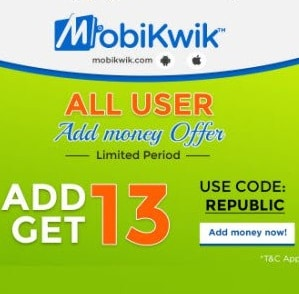 mobikwik republic loot offer