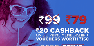 Mobikwik jio offer prime at rs99