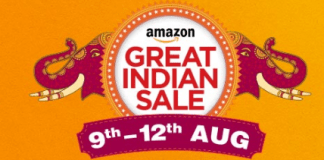 amazon great indian sale August 2017 offer